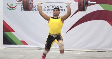 Pedro y Axel Ceballos conquistan cuatro medallas de bronce en Levantamiento de Pesas en el Nacional Juvenil