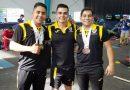 Ares González levanta el oro en la Olimpiada Nacional