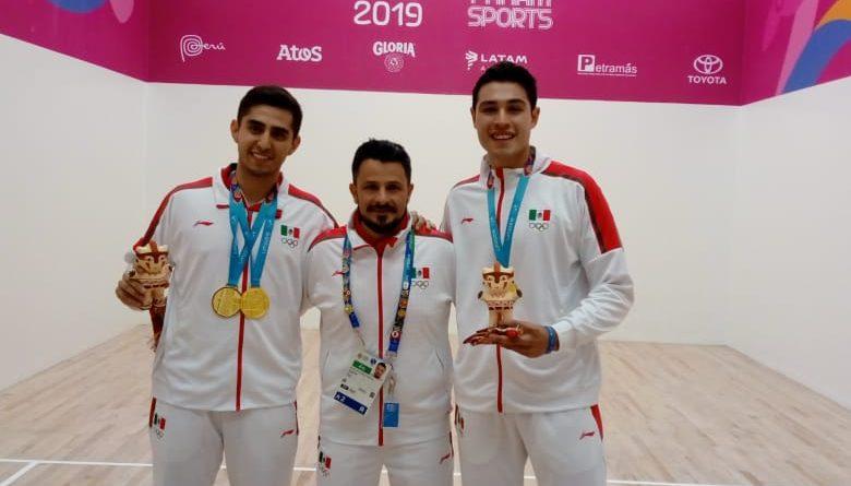 Conquistan chihuahuenses el oro en rácquetbol dentro de los Juegos Panamericanos