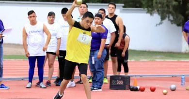 Disfrutan competidores en la Paralimpiada Estatal 2019