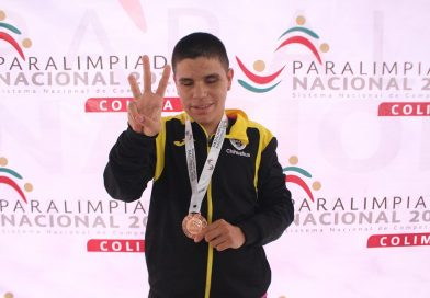 Celebra Chihuahua cinco medallas más en Para-Atletismo