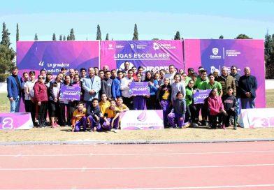 Realiza Deporte con Valor premiación a Ligas Escolares