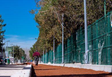 Continúan obras de remodelación en la Ciudad Deportiva