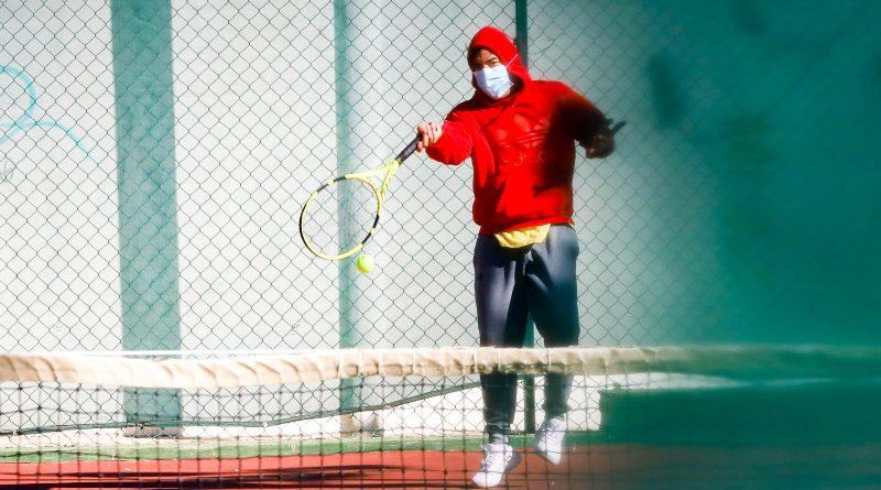 Canchas de Tenis retoma actividades en la Ciudad Deportiva