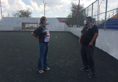 Evalúa Gobierno del Estado las condiciones de la infraestructura de unidades deportivas en Ciudad Juárez